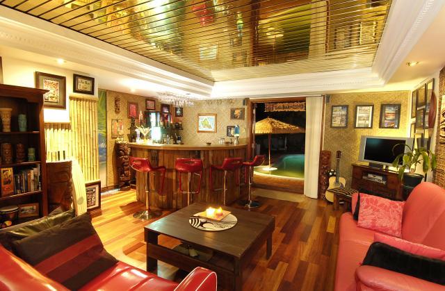 Home tiki bar from Perth   Kustom Kulture Australia
